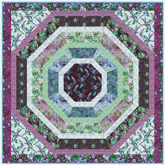 This Intriguing Quilt Finishes Quickly - Quilting Digest