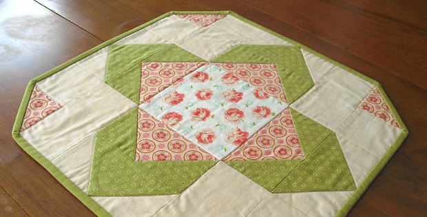 Time for Tea Table Topper Pattern