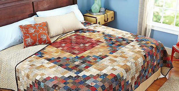 So Many Squares Quilt Pattern