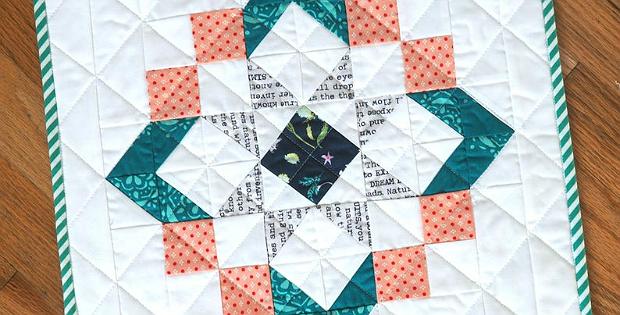 BeckyJo Mini Quilt Pattern