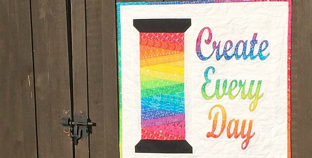 Create Every Day Mini Quilt Pattern
