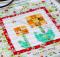 Spring Seed Catalogue Marigold Packet Mug Rug Pattern