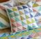 Triple Triangles Cushion Pattern