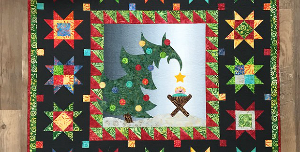 Christmas Morning Delight Wall Hanging Pattern