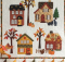 Autumn in the Village Wall Hanging Pattern