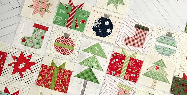 Tiny Christmas Blocks Pattern
