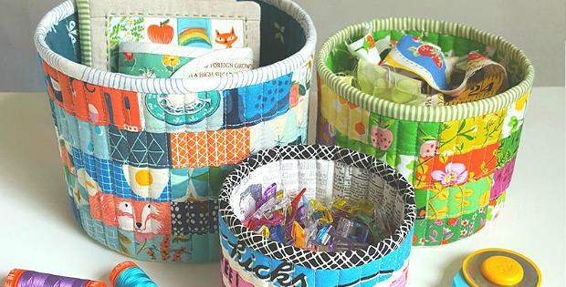 Tub Family Baskets Pattern