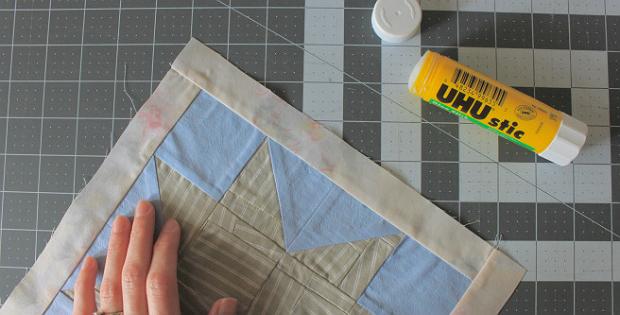 Baste with a Glue Stick for Precise Seams