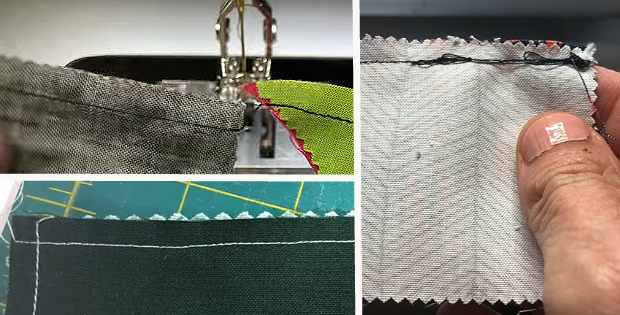Get Straight Seams from End to End When Piecing