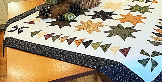 Mountaintop Splendor Quilt Pattern