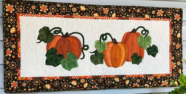 Pumpkin Patch Table Runner Pattern