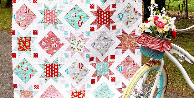 Stars and Windows Quilt Pattern