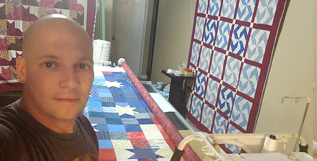 Quilting is the Solution to PTSD for This Vet