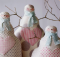 Happy Winter Snowmen Table Decoration Pattern