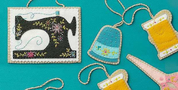 Sewing Ornaments Pattern