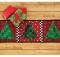 Patchwork Christmas Tree Runner Pattern