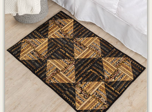 Geared Up Strip Rug Quilt Pattern