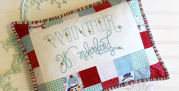 Winter Wonderland Pillow Pattern