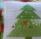Patchwork Christmas Tree Pillow Tutorial