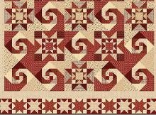 Berries & Blossoms Quilt 2 Pattern