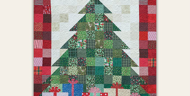 Quilted Christmas Tree Pattern