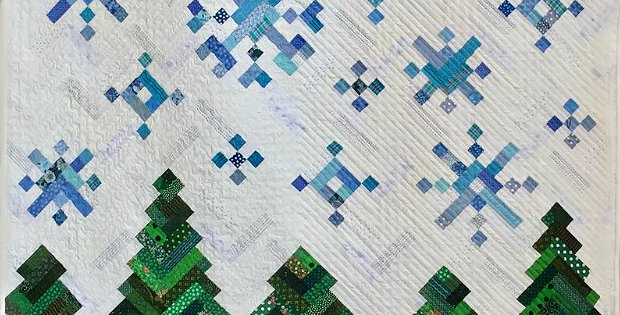 New Slant on Snowflakes Quilt Pattern