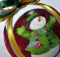 """Circle Picture Window"" Kimekomi Christmas Ornament Pattern"