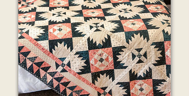 Blush and Blue Quilt Pattern