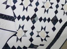 Diamond Star Path Quilt Pattern