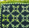 Fierce Chain Miniature Quilt Pattern