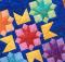 Rainbow Corona Mini Quilt Pattern