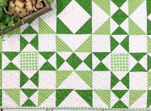 Lucky Charms Table Quilt Pattern