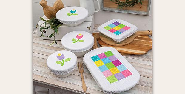 Fabric Bowl & Pan Covers Pattern