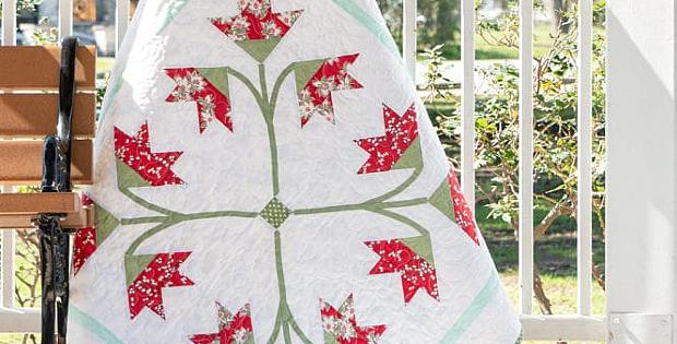Carolina Lily Quilt Pattern