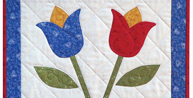 Tulips Quilt Pattern
