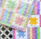 Stars and Bars Baby Quilt Pattern