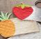 Summer Fruits Mug Rug Pattern