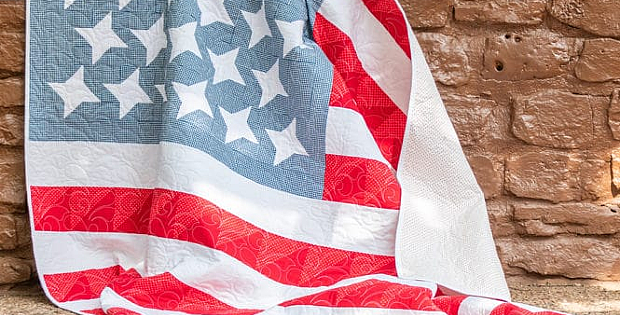 Stars, Stripes and Dots Quilt Pattern