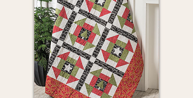 A Star for Every Tree Quilt Pattern