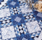 Blue Persuasion Table Topper Pattern
