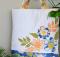 Colorful Fabric Flower Appliqué Tote Bag Tutorial