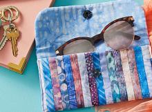 Stylish Sunglasses Case Pattern
