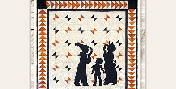 All Dressed Up For Halloween Quilt Pattern