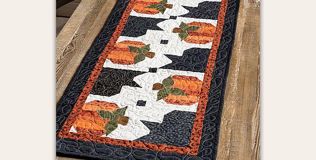 Pumpkin Hollow Table Runner Pattern