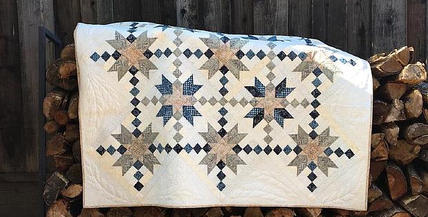 Double Arrow Quilt Pattern