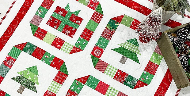 Happy Christmas Quilt Pattern