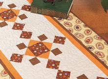 Diamond Forest Table Runner Pattern
