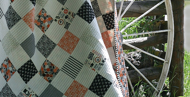 A Simple Charm Quilt Tutorial