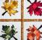 Tessellating Autumn Leaves Wall Hanging Pattern