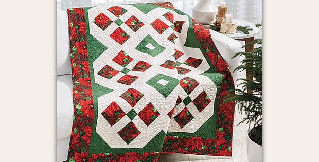 Highlights of Christmas Quilt Pattern